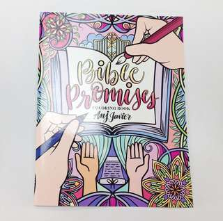 Bible Promises Adult Coloring Book