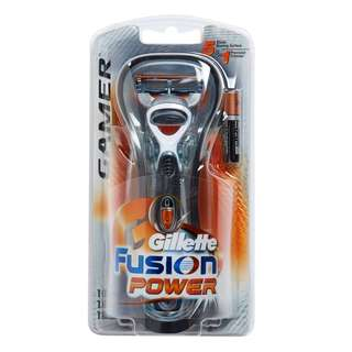 🚚 Gillette Fusion Power Gamer Razor