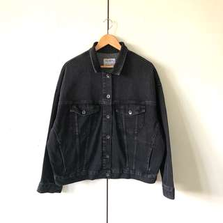 Pull and Bear Oversized Denim Jacket