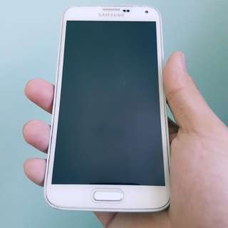 Samsung S5 with finger print scanner