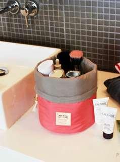 Travel Drawstring Tolietries Pouch Cosmetic Skincare Makeup Bag Organiser Organizer