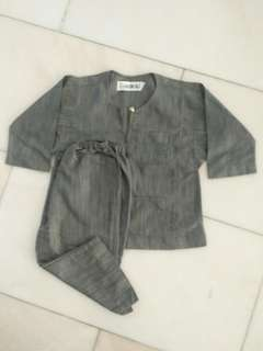 Baju Melayu Budak Omar Ali