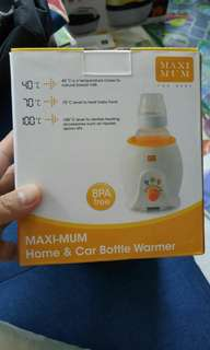Maxi-mum home & car bottle warmer