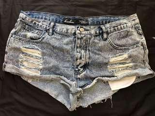BamBam Denim Shorts