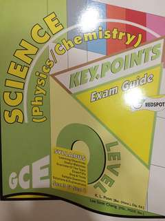 Keypoints Physics and Chemistry Upper Secondary Assessment Book