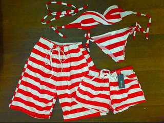 Couple Swimwear Set