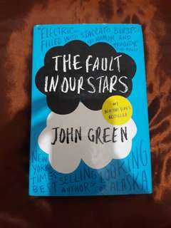 *RUSH* THE FAULT IN OUR STARS HARDBOUND