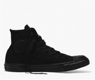 black all star high top converse
