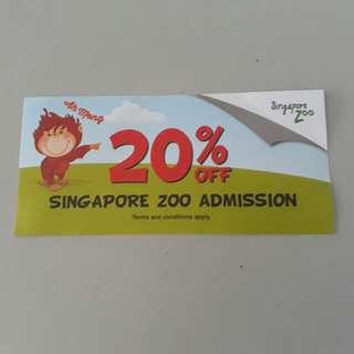 Singapore zoo discount voucher