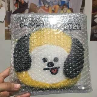 READYSTOCK BT21 CHIMMY BOUCLE POUCH