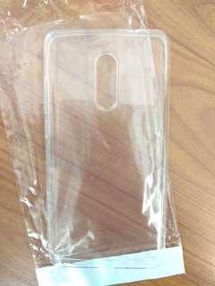 小米 紅米note 4x 透明手機套