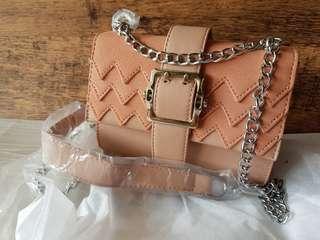 🚚 Lovely Blush Pink Chain Shoulder Bag