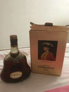 X.O. Hennessy Cognac