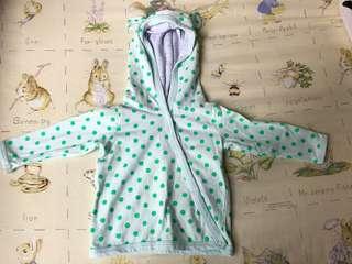 BN cotton on newborn jacket