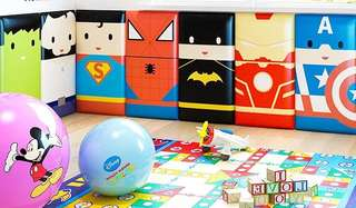 Preorder Avengers anti knock anti collision soft cushion panels for kids or babies play room deco