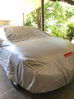 Auto form fitted car cover