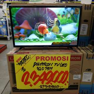 "Cicil Tv Polytron 32"" Dapatkan Promo Free 1x angsuran, Proses 3 Menit"