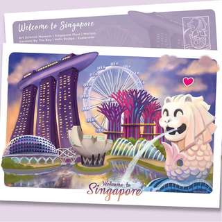 Welcome to Singapore Postcard