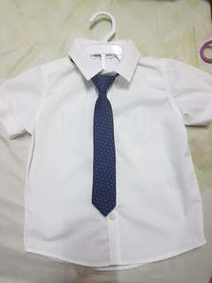 Kemeja free (tie) branded and new