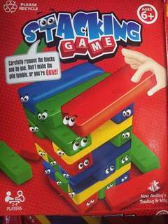 Stacking Game and Jumping Rope