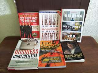 Assorted Self Improvement Books