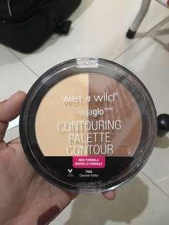 Wet and wild contour pallete