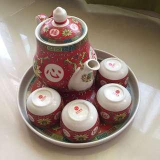 Wedding Chinese Tea Set   结婚敬茶杯套