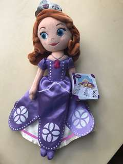 Sofia the first plush toy