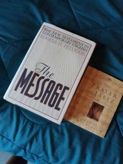 The Message Bible plus free book