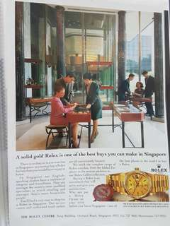 1990s Rolex Advert for Day Date 18238