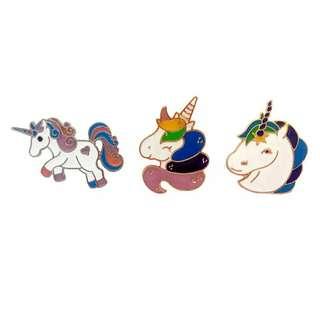 [BUY 4 FREE 1] Unicorn enamel pin