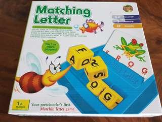 Matching Letter learning game