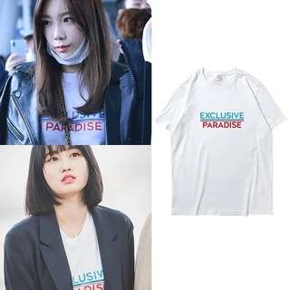 SNSD TAEYEON , TWICE MOMO INSPIRED T-SHIRT