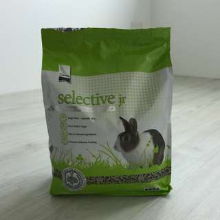Selective Jr Pellets for Junior Rabbits - 2KG