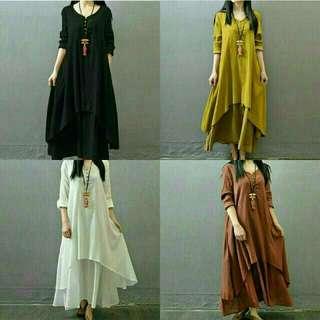 Dress Syahrini/ Gamis