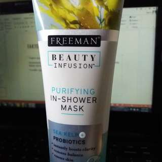 TERMURAH! Freeman beauty infusion (purifying in-shower mask)