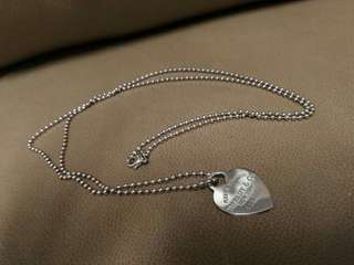Tiffany & Co. - necklace - Return to Tiffany - Heart in sterling silver