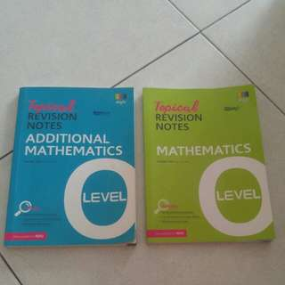 O Level Topical Revision Notes MATHS