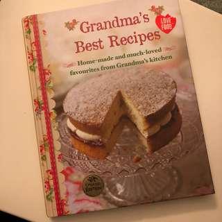 Grandma's Best Recipes cookbook