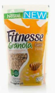 SALE Granola Honey (300g) by FITNESSE