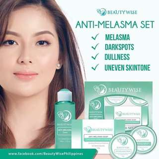 Beauty wise anti- melasma/ pekas set