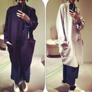 Hermès Cashmere Oversize Jacket