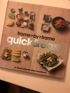Quick and easy recipe book
