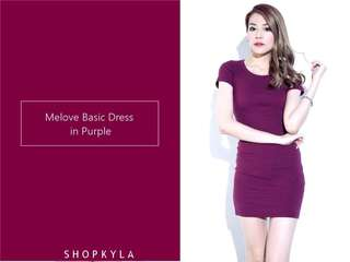 Melove basic dress