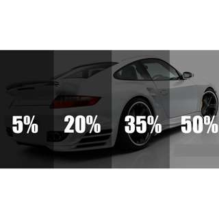 CAR WINDOW TINTING FOR ALL TYPE CARS