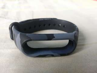 Mi Band 2 Strap- Military Design (Blue or Grey)