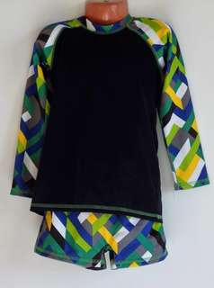 Branded rash guard 4 to 6 years old