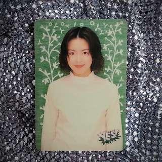 梁詠琪 Gigi Leung 絕版 Yes Card Yes咭 Yes卡 明星相 明星照片 回憶 珍藏 偶像 膠咭