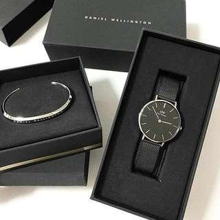 Daniel Wellington Classic Petite Gift Set (Watch+Cuff)