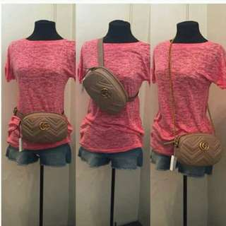 Gucci marmont Beltbag Large 4A